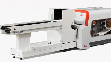 stacker and cutter of the ADTP1 printer